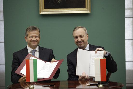 Spotkanie Ministrów Kultury państw Grupy Wyszehradzkiej 2013. Fot: Danuta Matloch