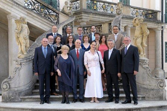 Spotkanie Ministrów Kultury państw Grupy Wyszehradzkiej 2014. Fot: Bartos Gyula,  Ministerstwo Zasobów Ludzkich Węgier
