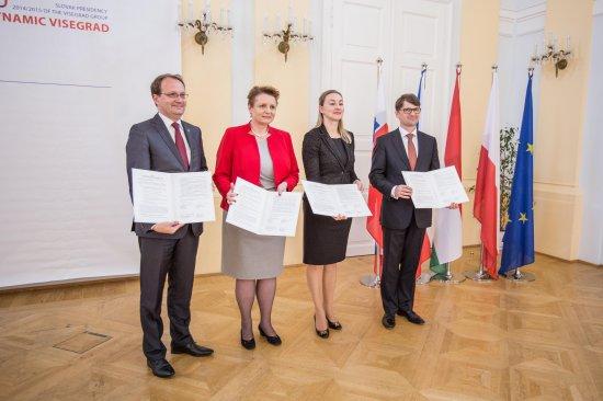 Spotkanie Ministrów Kultury państw Grupy Wyszehradzkiej 2015. Fot.: Ministerstwo Kultury Słowacji