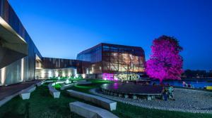 Budowa Centrum Nauki Kopernik w Warszawie- inwestycja o wartości całkowitej 364,7 mln zł, otrzymała dofinansowanie z EFRR w wysokości 207 mln zł. Fot. Mariusz Lis