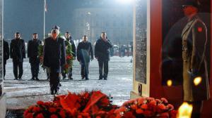 2016-03-01 - Narodowy Dzień Pamięci Żołnierzy Wyklętych -  Apel Poległych przy Grobie Nieznanego Żołnierza. fot.: Danuta Matloch