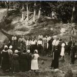 Wycieczka na litewskim grodzisku w Apuole (Archeologiczne dziedzictwo 2011, 54)