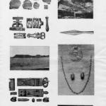 Fotokopie różnych publikowanych materiałów archeologicznych (Archeologiczne dziedzictwo 2011, 33).