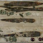 Tenkieten. Pieces surviving from the collections of Prussia-Museum. Now in Museum für Vor- und Frühgeschichte in Berlin (Ch. Reich, W. Menghin 2008, Fig. 5).