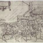 Caspar Hennenberger's map of Prussia – 17th century edition (T. Nowakiewicz 2008, Fig. 1).