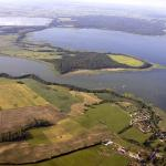 Lake Łuknajno in Masuria. Bird's eye view (www.foto-turystyka.pl).