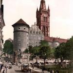 Królewiec, obecnie Kaliningrad, Rosja. Widok na zamek (Nowakiewicz T. 2008, 31, ryc. 16).