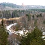 Gauja – dolina rzeki. Łotwa (fot. T. Nowakiewicz).