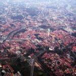 Vilnius. Bird's eye view. Photo T. Nowakiewicz.