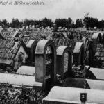 Wiłkowyszki, now Vilkaviškis, Lithuania. The Jewish cemetery before 1915. (Na lewym brzegu Niemna 2006, Fig. 122).