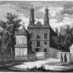 Wiłkowyszki/Vilkaviškis. Kościół w 1868 r. (Na lewym brzegu Niemna 2006, ryc. 26).