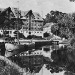 Braunsberg, now Braniewo, distr. loco. Warehouses on the Pasłęka river (H. Csallner 2004, 86).